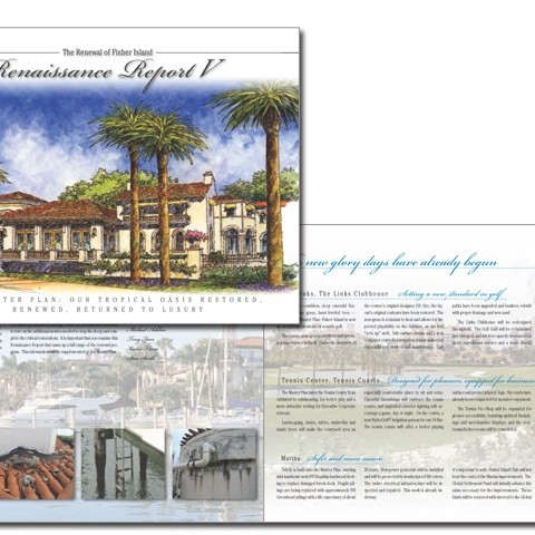 Fisher Island Renaissance real estate brochure