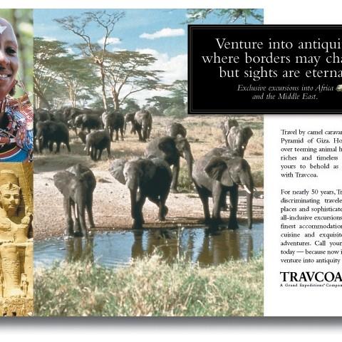 Travelcom print ad