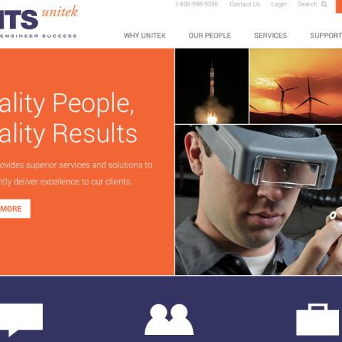 Unitek B2B website