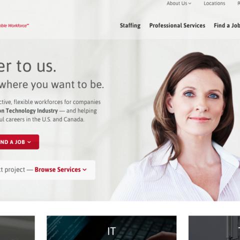 Kineticom B2B website
