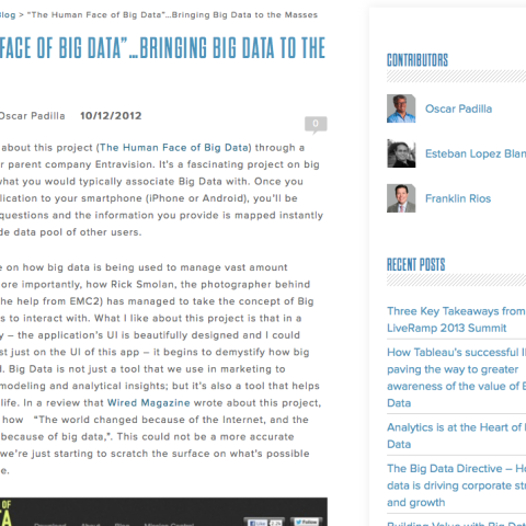 Luminar Insights B2B blog
