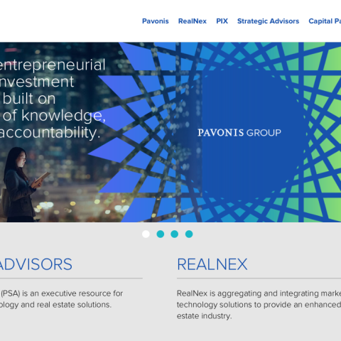 Pavonis real estate investment website