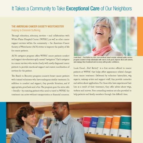 White Plains Hospital Center annual report