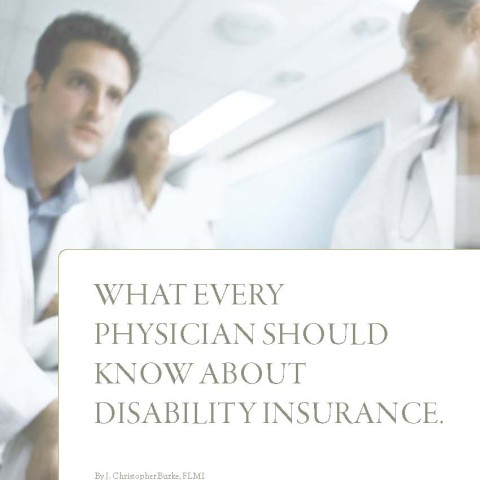 Disability insurance white paper